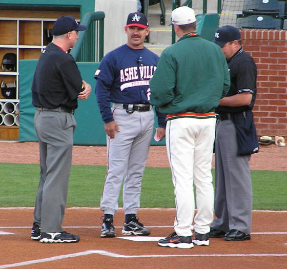 The Managers - Greensboro Grasshoppers -