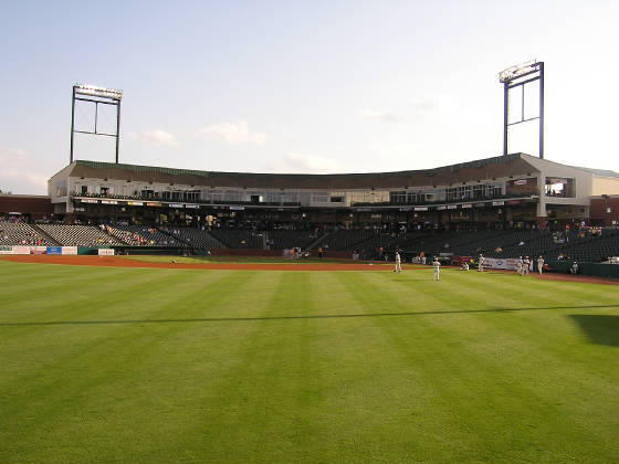 THe view from Center Field - Greensboro